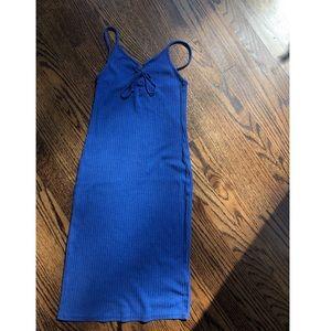 Topshop 🔹 blue strappy dress, NWOT